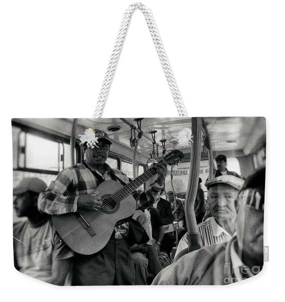 Entertainment Included Weekender Tote Bag