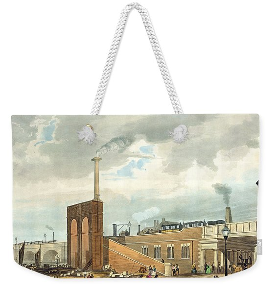 Entrance Into Manchester Across Water Weekender Tote Bag