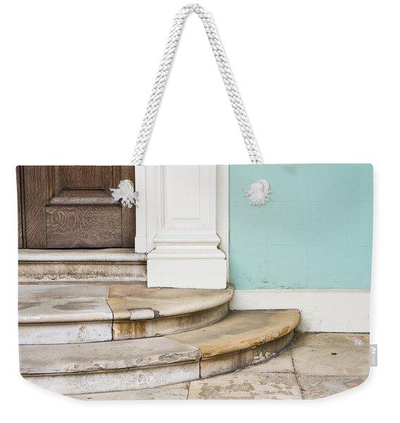 Entrance Steps Weekender Tote Bag