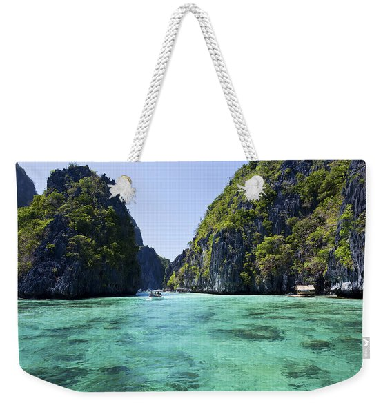 Entrance To Big Lagoon Weekender Tote Bag