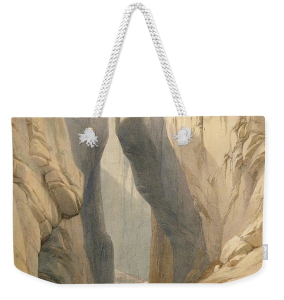 Entrance To The Bolan Pass From Dadur Weekender Tote Bag