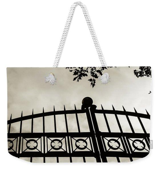 Entrances To Exits - Gates Weekender Tote Bag