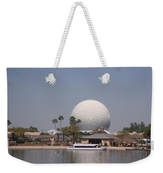 Epcot Center Spaceship Earth Weekender Tote Bag