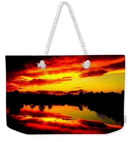 Epic Reflection Weekender Tote Bag