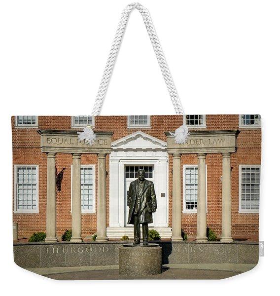 Equal Justice Under Law Weekender Tote Bag