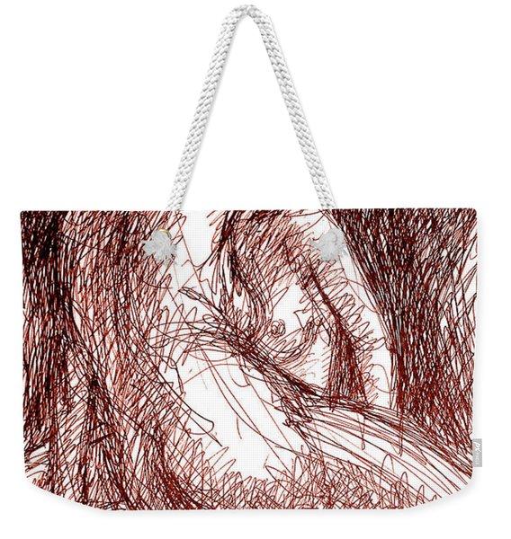 Erotic Drawings 19-2 Weekender Tote Bag