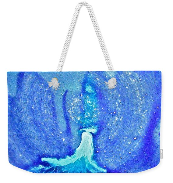 Eruption Acqublue  Weekender Tote Bag