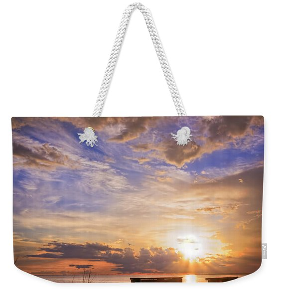 Essence Of Light Weekender Tote Bag
