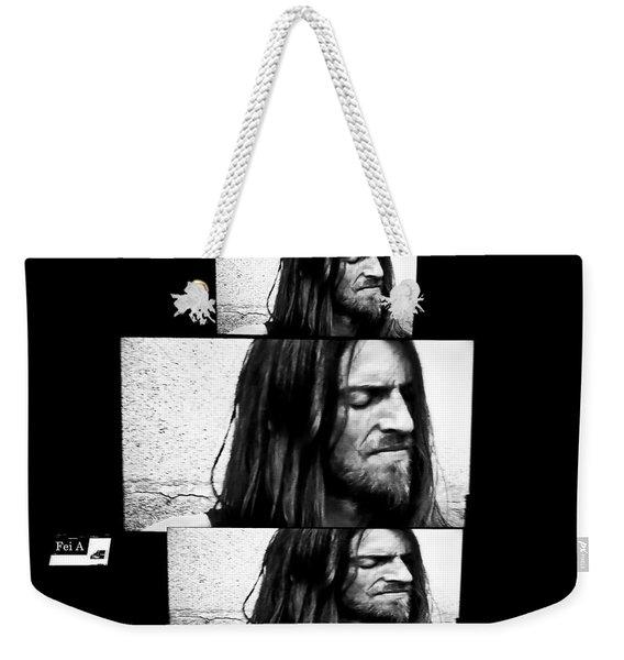 Estas Tonne's Face Weekender Tote Bag