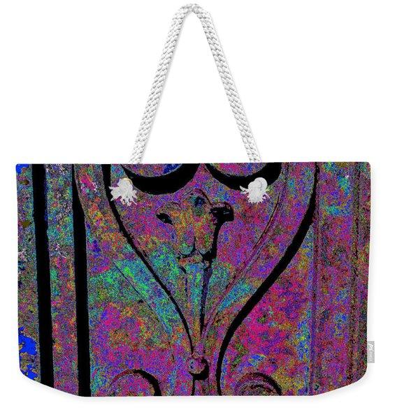 Etched Love Weekender Tote Bag