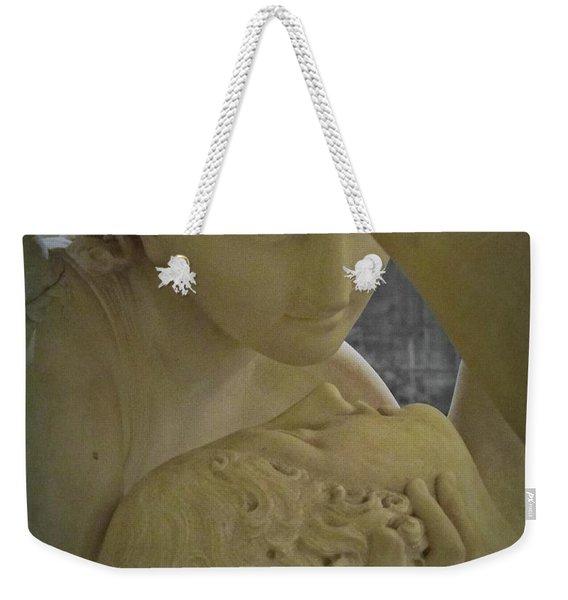 Eternal Love - Psyche Revived By Cupid's Kiss - Louvre - Paris Weekender Tote Bag