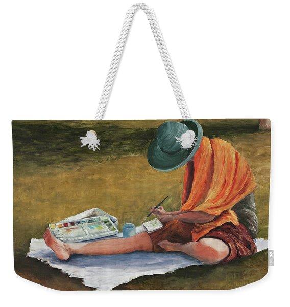 Eva Weekender Tote Bag