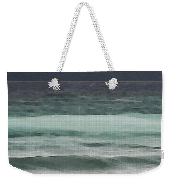 Even Tides Weekender Tote Bag