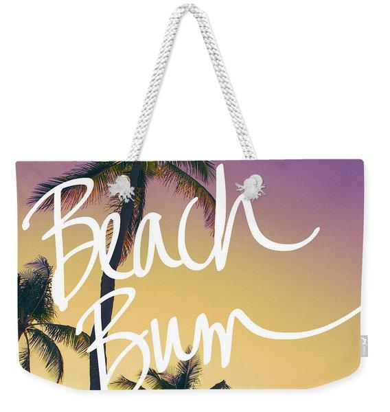 Evening Beach Bum Weekender Tote Bag