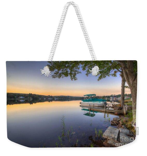 Evening Calm Weekender Tote Bag