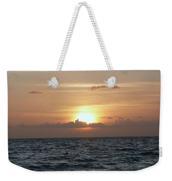 Evening Comes To The Beach Weekender Tote Bag