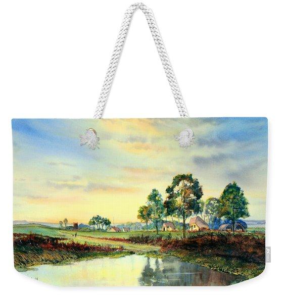 Evening Falls Weekender Tote Bag