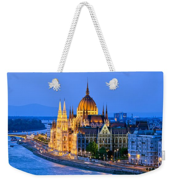 Evening In Budapest Weekender Tote Bag