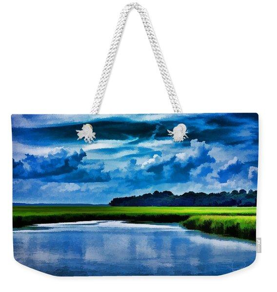 Evening On The Marsh Weekender Tote Bag