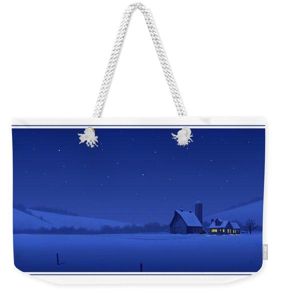 Evening Shade Weekender Tote Bag