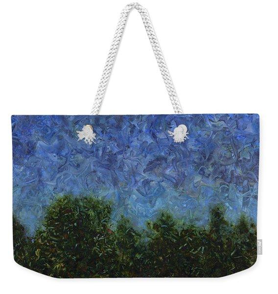 Evening Star Weekender Tote Bag
