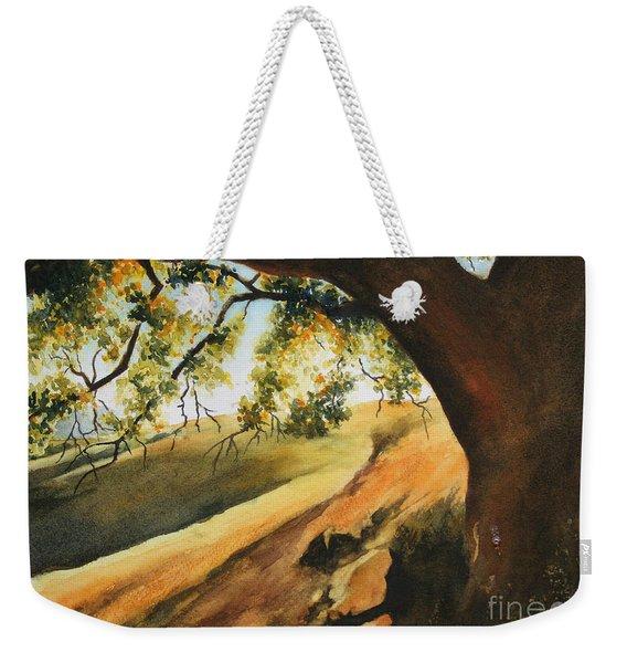 Evening Stroll Weekender Tote Bag