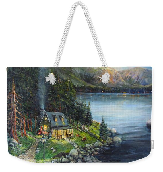 Evening Visitors Weekender Tote Bag