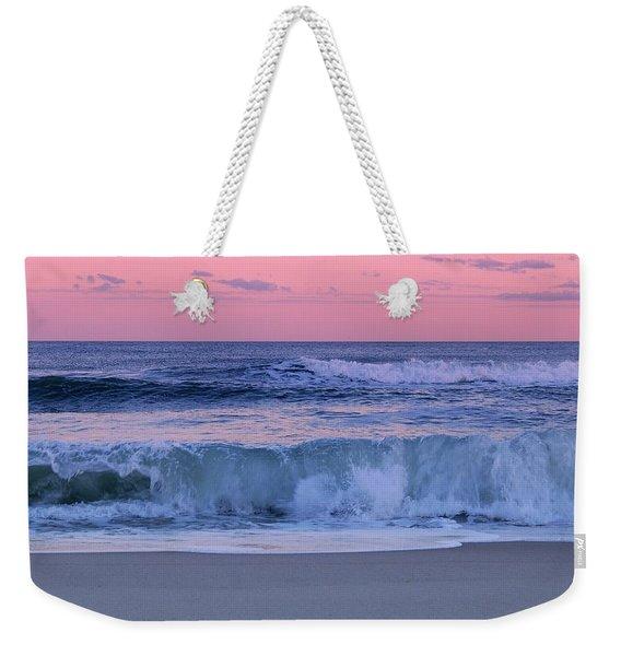Evening Waves - Jersey Shore Weekender Tote Bag