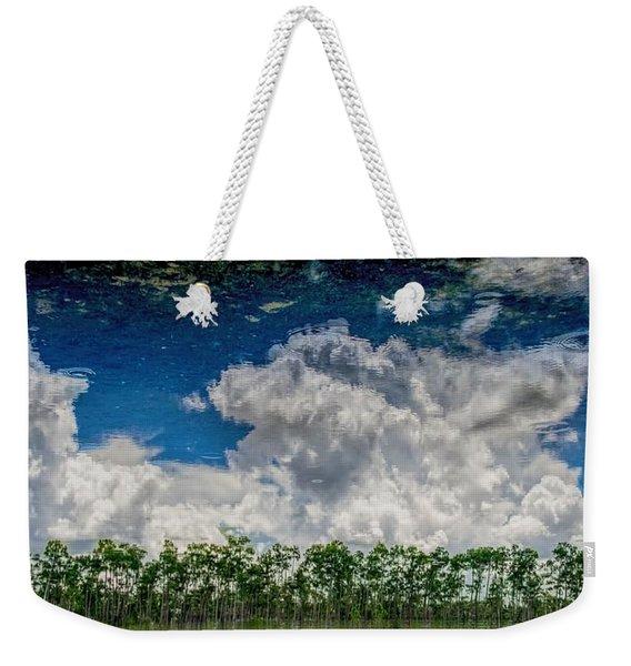 Reflected Everglades 0203 Weekender Tote Bag