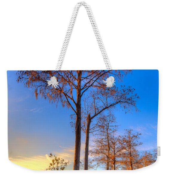 Everglades At Sunset Weekender Tote Bag
