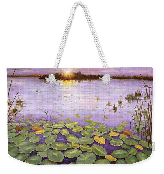 Everglades Evening Weekender Tote Bag