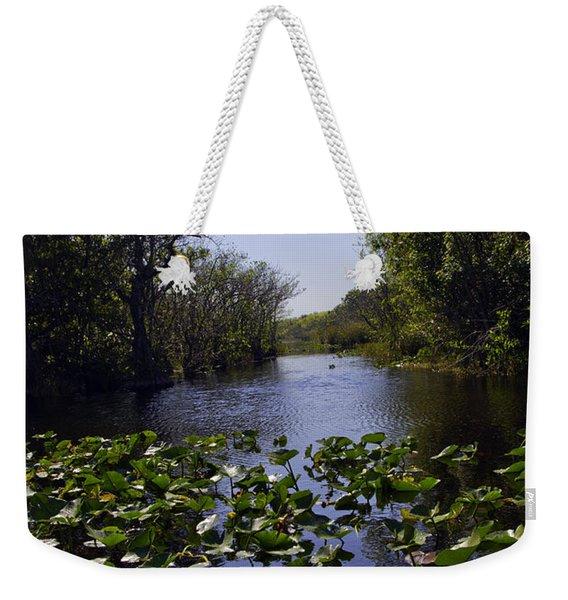Everglades In Perspective - Florida Weekender Tote Bag