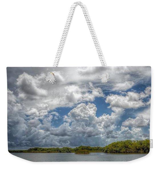 Everglades Lake 6919 Weekender Tote Bag