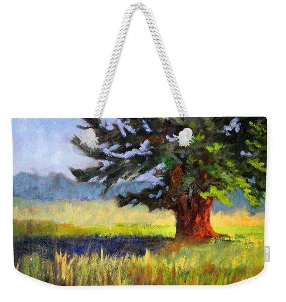 Evergreen Weekender Tote Bag