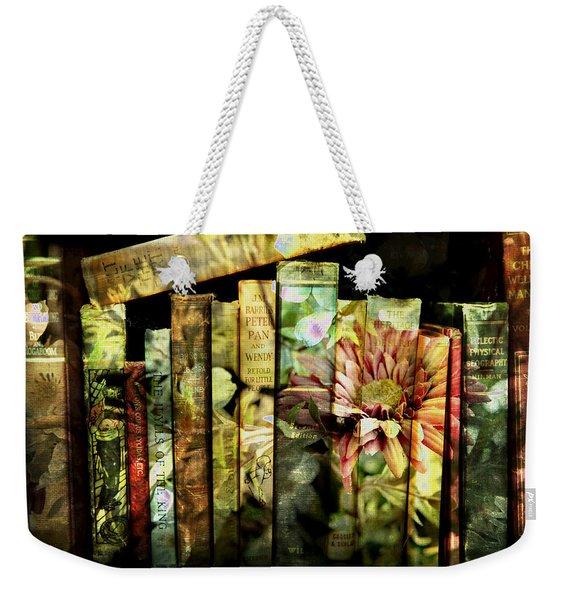 Evie's Book Garden Weekender Tote Bag