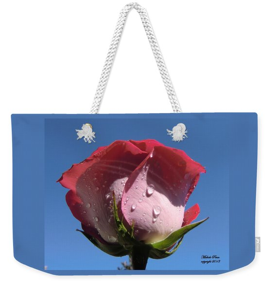 Excellence Centered  Weekender Tote Bag