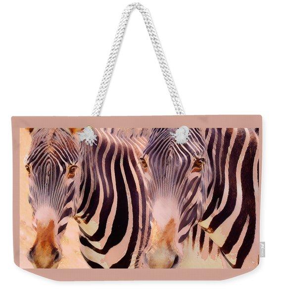 Exotic Friends Weekender Tote Bag