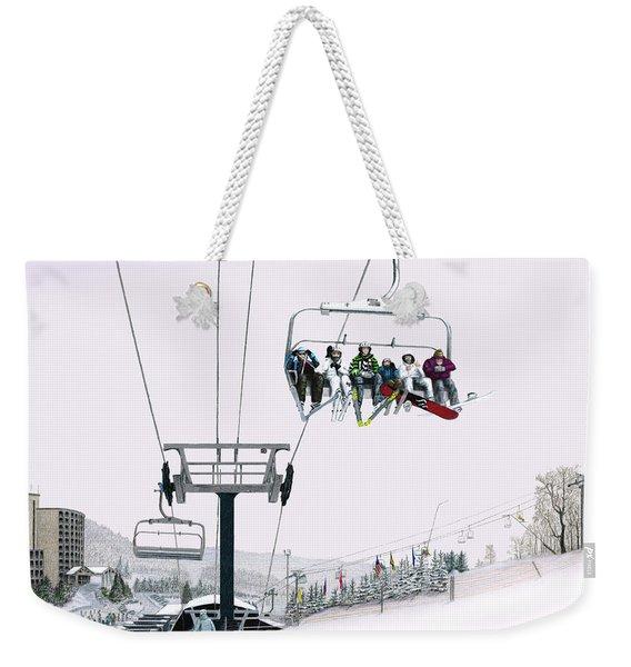 Experience Seven Springs Weekender Tote Bag