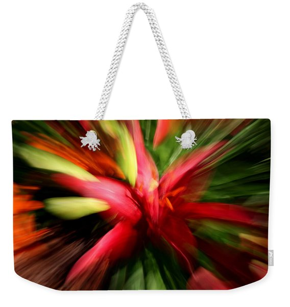Exploding Lily Weekender Tote Bag