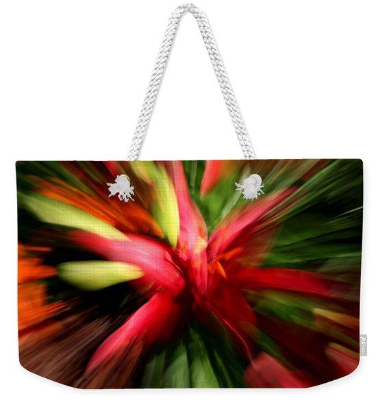 Exploding Lily Weekender Tote Bag