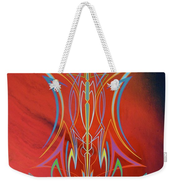 Eye Flying Weekender Tote Bag