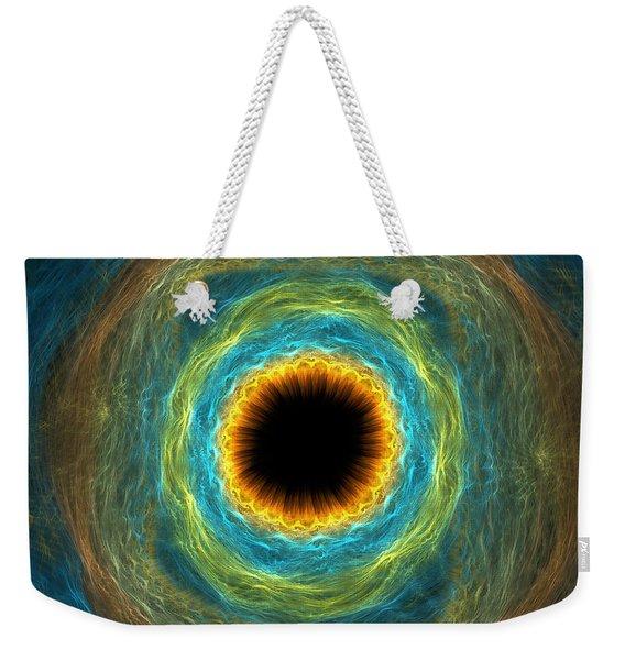 Eye Iris Weekender Tote Bag