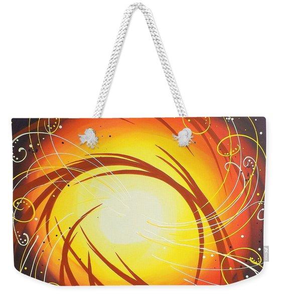 Eye Of The Hurricane Weekender Tote Bag