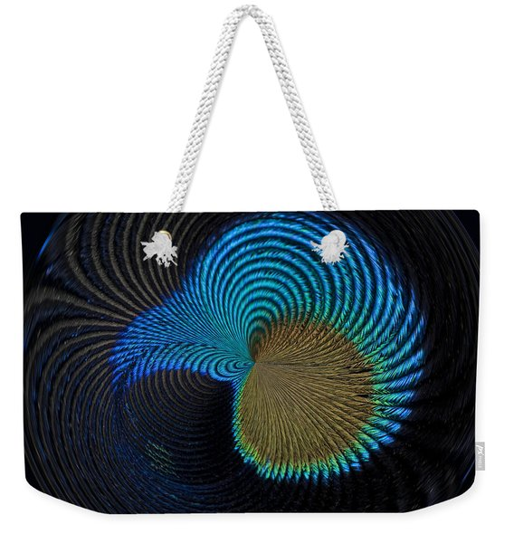 Eye Of The Peacock Weekender Tote Bag