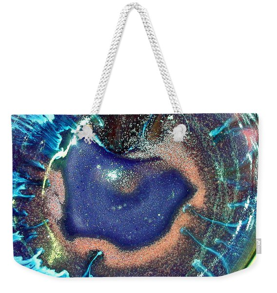 Eye Of The Universe Acqunavy Weekender Tote Bag