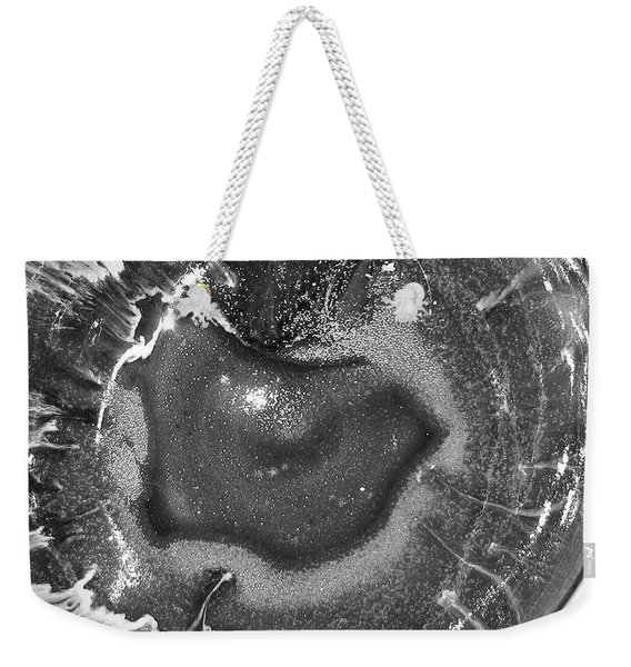 Eye Of The Universe Greyscale Weekender Tote Bag
