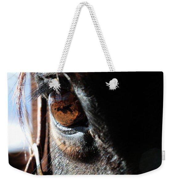 Eyeball Reflection Weekender Tote Bag