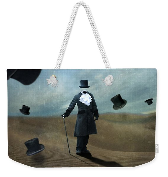 Faceless Weekender Tote Bag