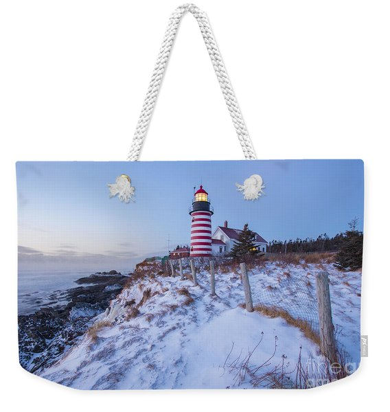 Facing East  Weekender Tote Bag