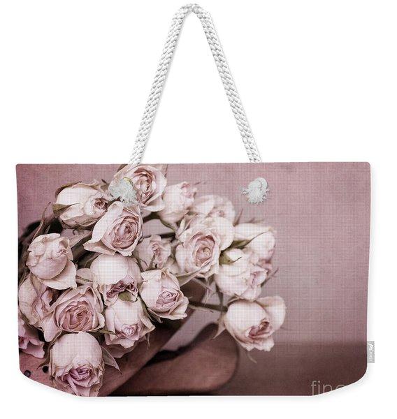 Fade Away Weekender Tote Bag